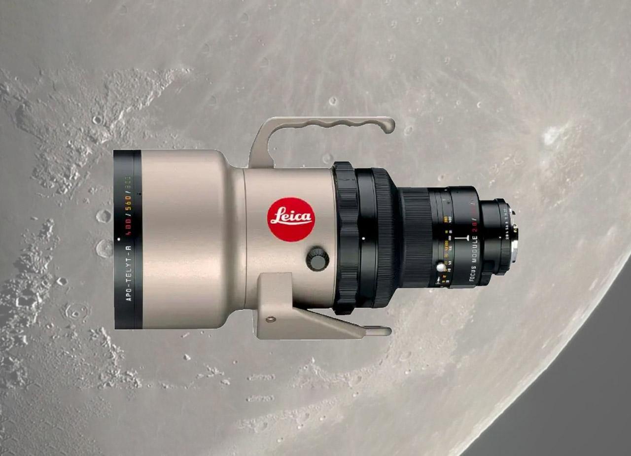 Moon Leica APO-Telyt-R 400mm DSLR Lens