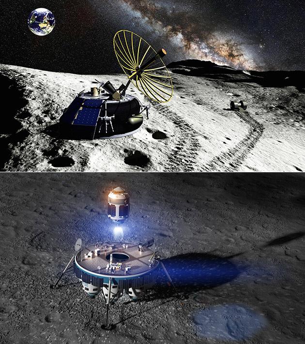 Moon Mining