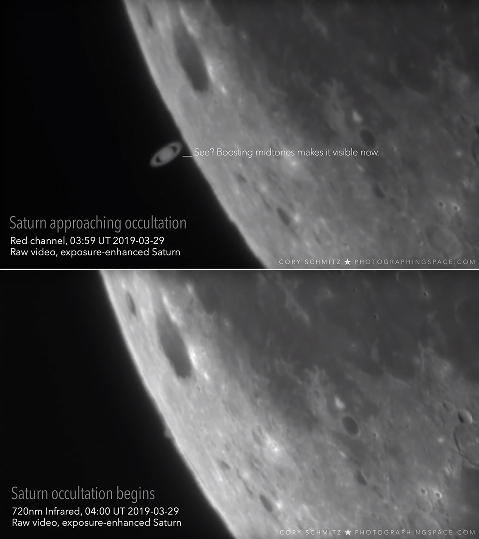 Moon Rings of Saturn Natural Satellite