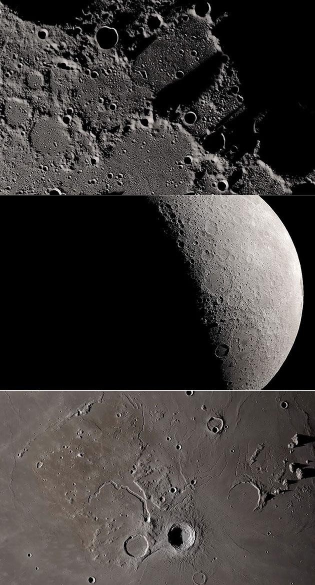NASA Moon Surface