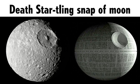 I'm afraid the Death Star is quite operational...