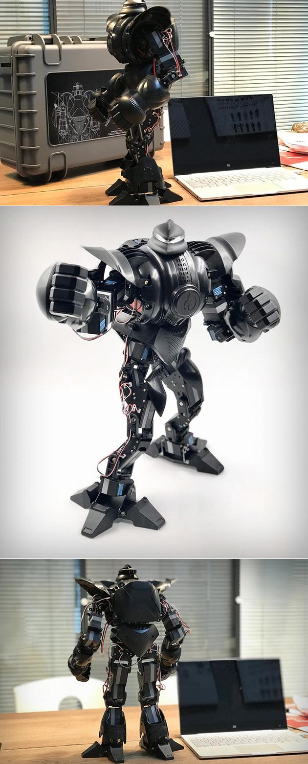 Moorebot Zeus Battle Robot