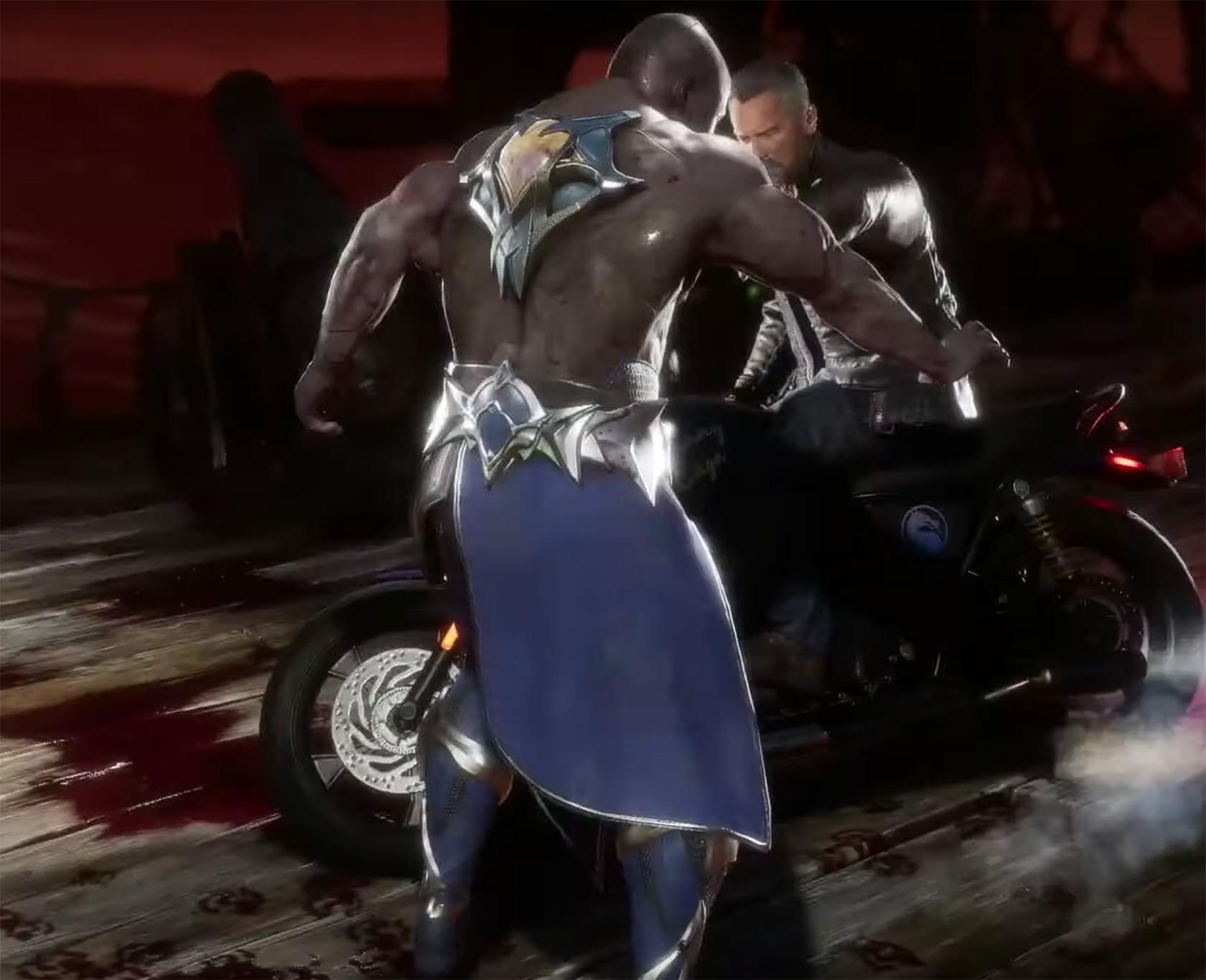 Mortal Kombat 11 Terminator T-800 Fatality