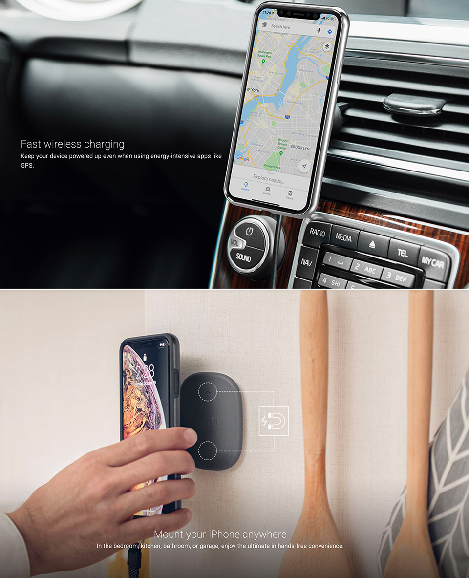 Moshi SnapTo Magnetic Car Mount Case