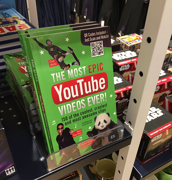 Most Epic YouTube Videos Book