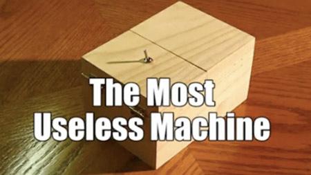 most pointless machine