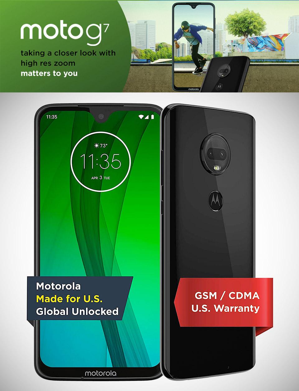 Moto G7 Unlocked
