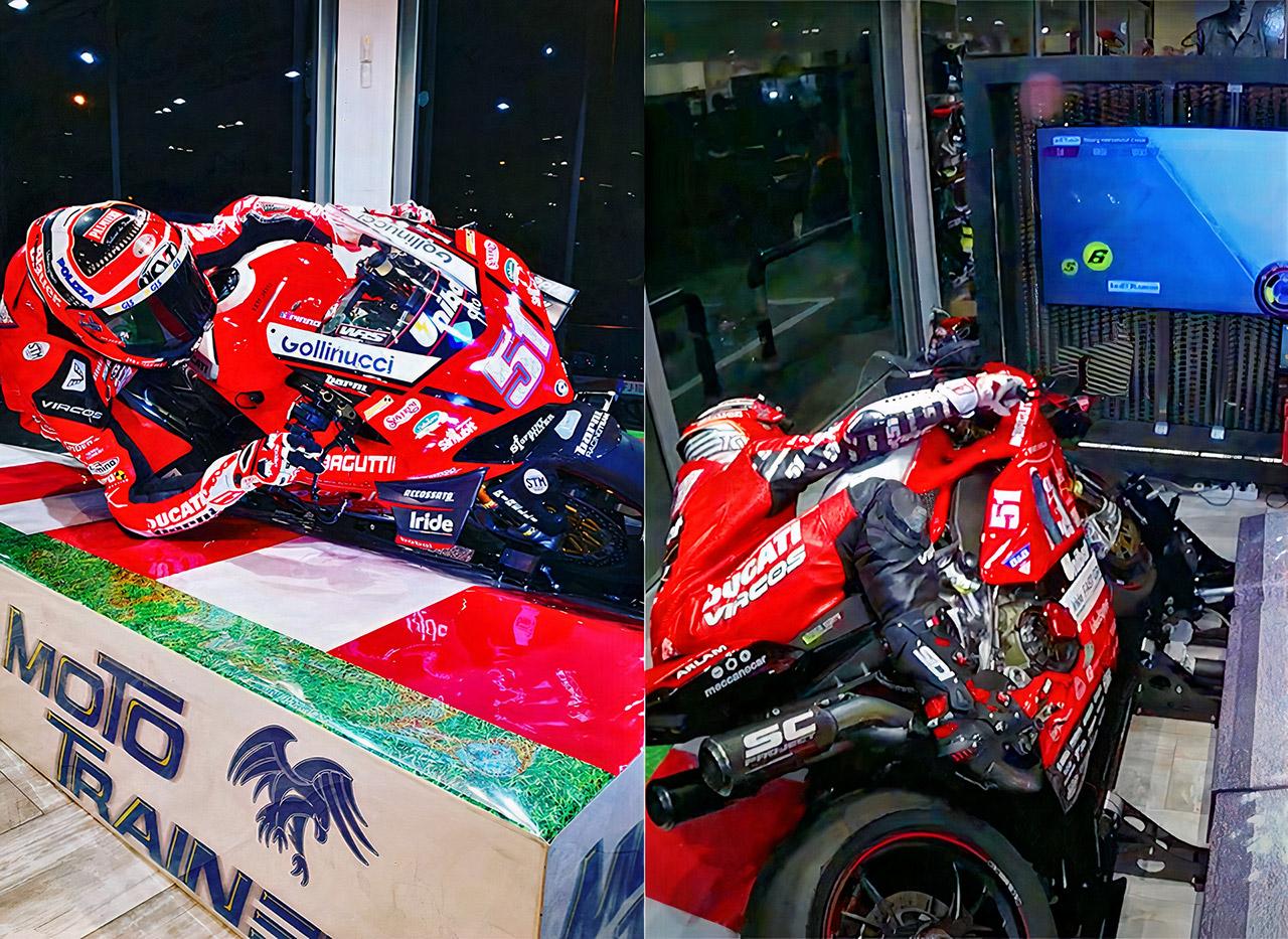 Moto Trainer MotoGP Superbike Simulator