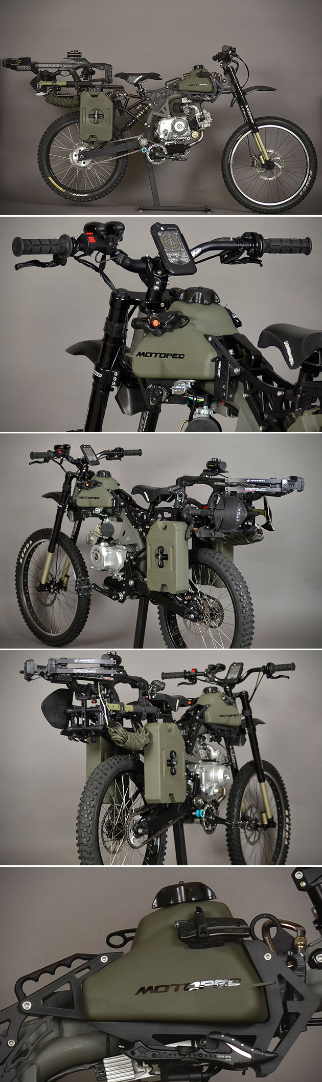 Motoped Black Ops Edition