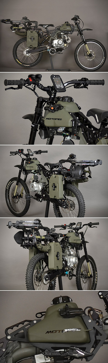Motoped Survival Black Ops Edition