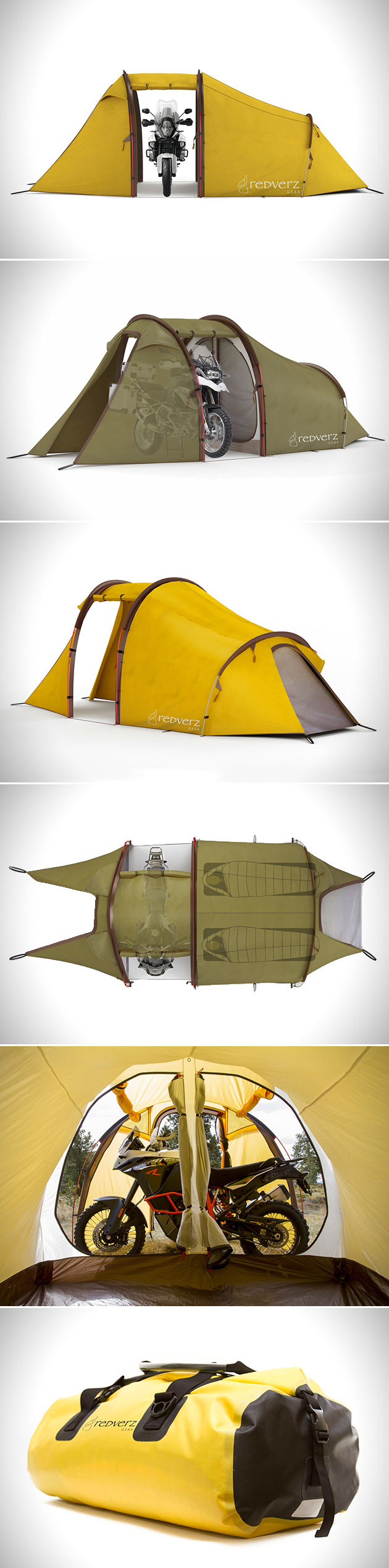 Motorcycle Expedition Tent