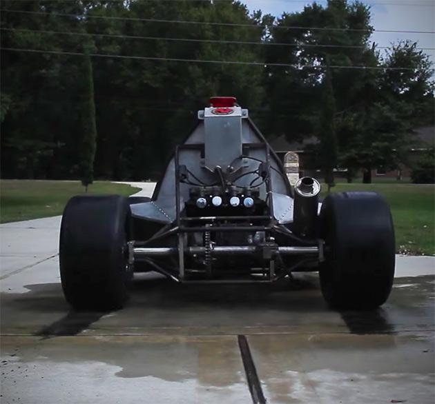 Motorcycle Powered Go-Kart