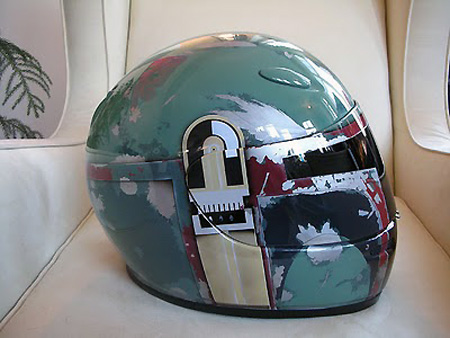 Boba Fett Helmet Tattoo. Boba Fett