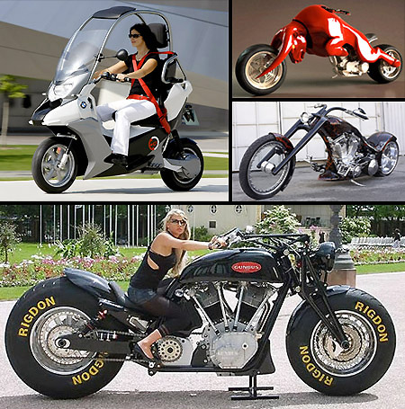 Strange Motorcycles That Deserve a Second Look - TechEBlog