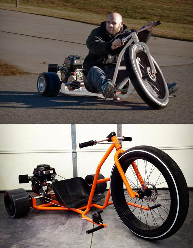 forget hoverboards this motorized big wheel drift trike. Black Bedroom Furniture Sets. Home Design Ideas