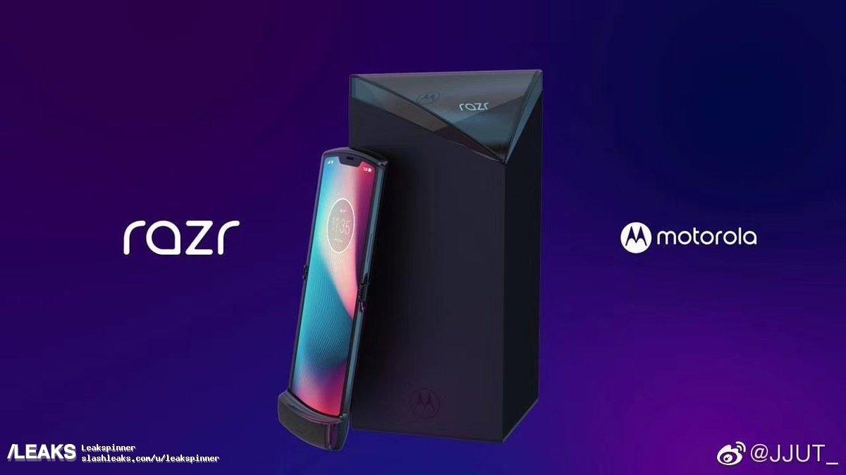 Motorola Folding RAZR Leak
