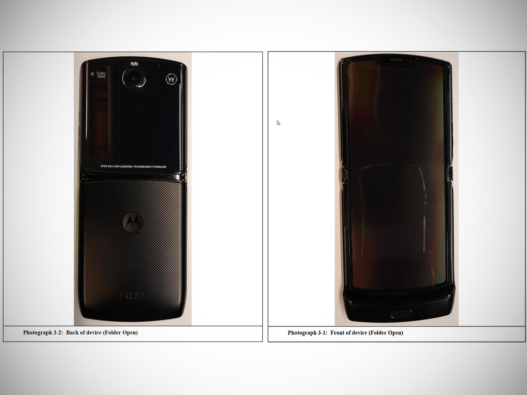 Motorola Folding RAZR Smartphone