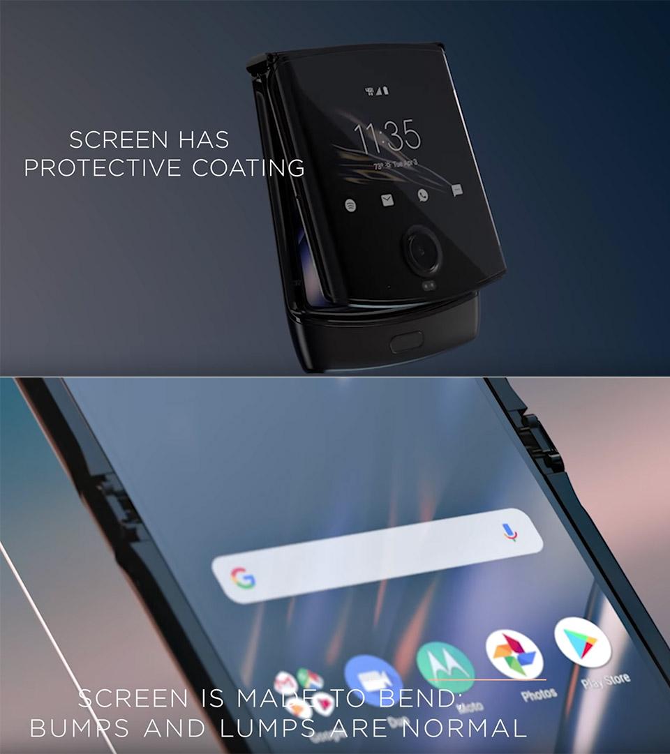 Motorola RAZR Bumps
