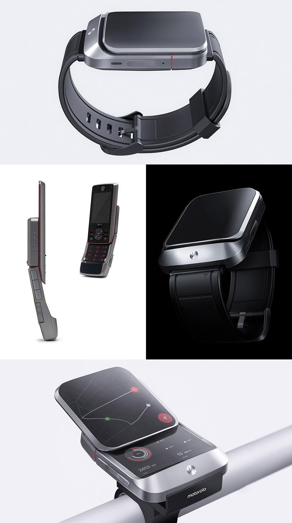 Motorola Smartwatch Flip