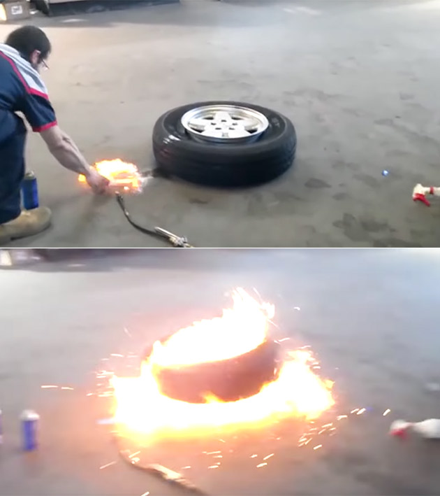 Fire Mount Tire