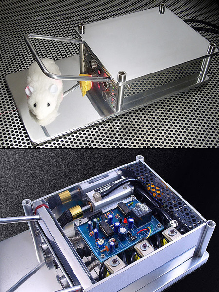 The Better Mousetrap Uses Lasers  Pneumatics To
