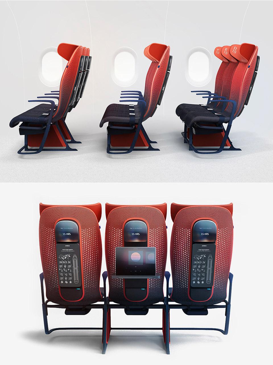 Move Airbus Seat Concept