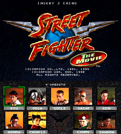 Video Game Vault Street Fighter The Movie The Game Techeblog