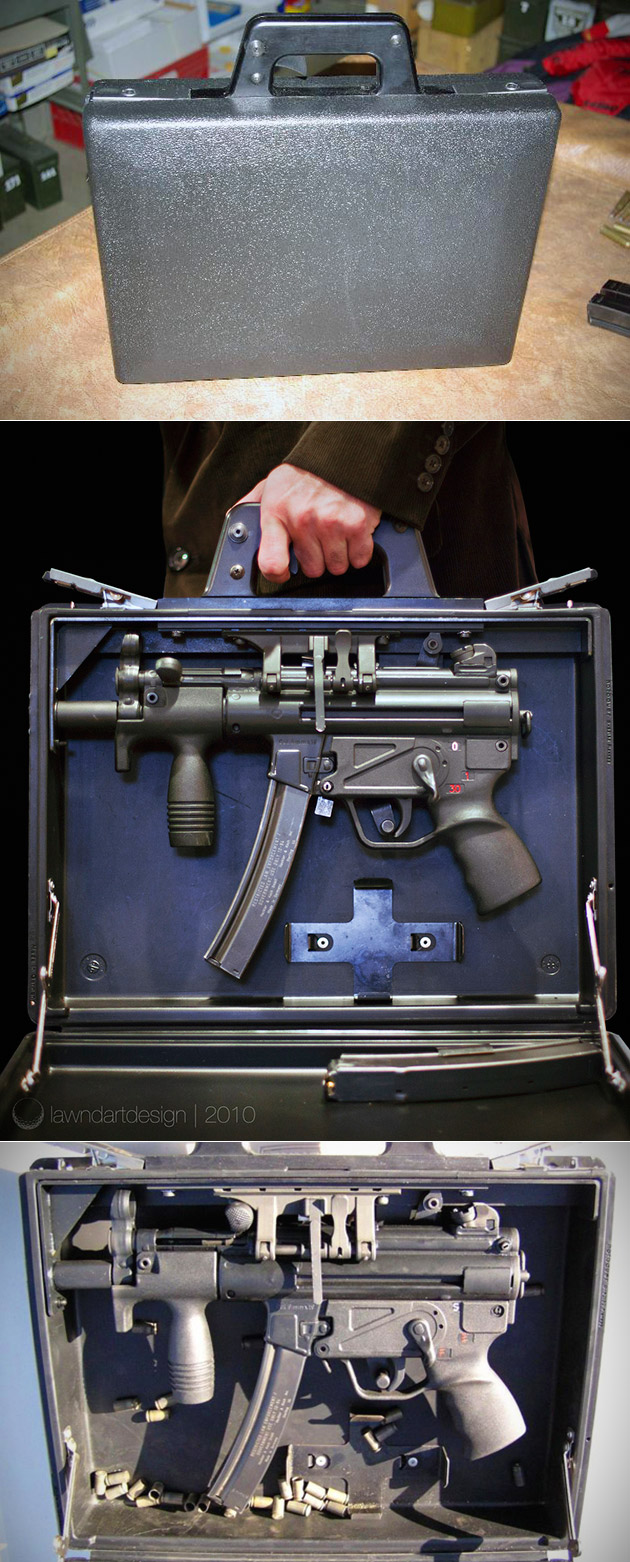 HK MP5K Submachine Gun