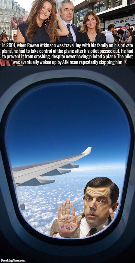 Mr. Bean Plane Crash