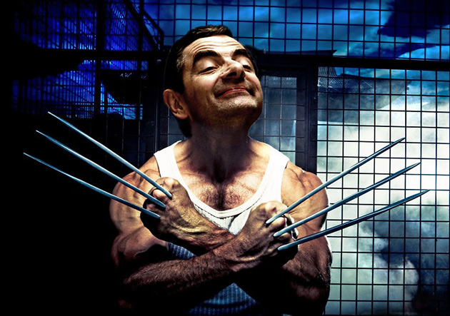 Mr. Bean Photoshop