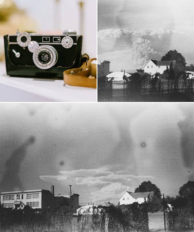 Fotograf Entdeckt Erstaunliche Fotos von Mt. St. Helens Eruption auf Secondhand-laden Kamera