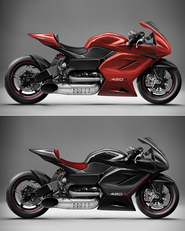 MTT 420RR Superbike