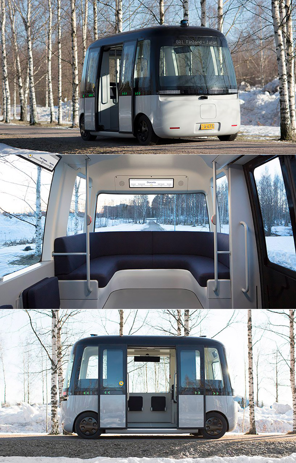 MUJI GACA Self-Driving Bus