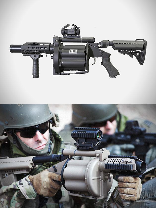 Multi-Grenade Launcher