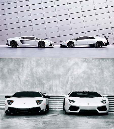 When Lamborghini S Aventador Meets The Murcielago Sv Techeblog