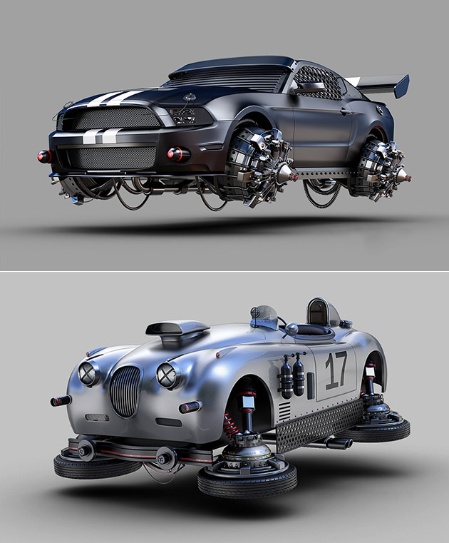 Mustang Back to the Future
