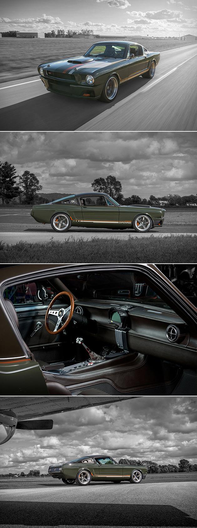 Mustang Espionage