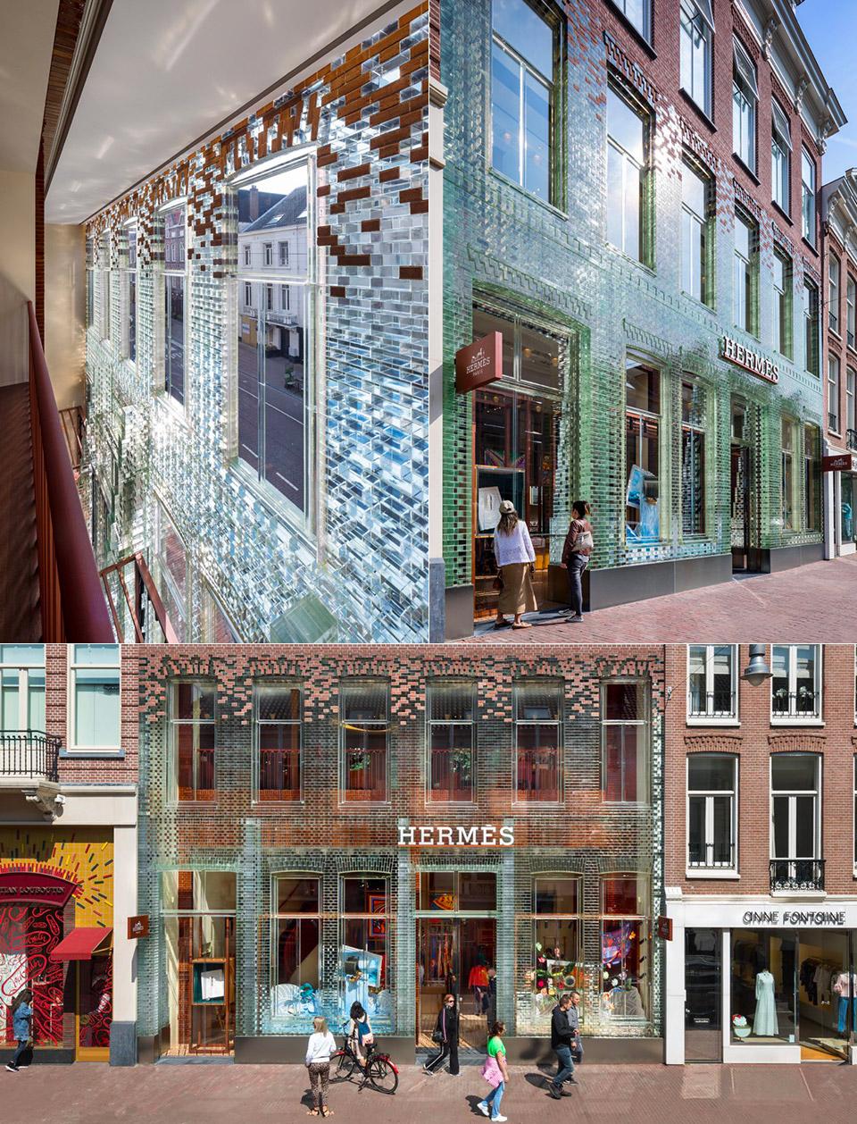 MVRDV Crystal House Transparent Brick Amsterdam