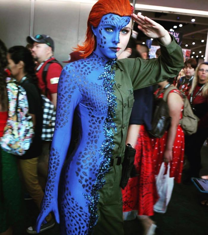 Mystique and 10 More Impressive Cosplayers from San Diego Comic Con