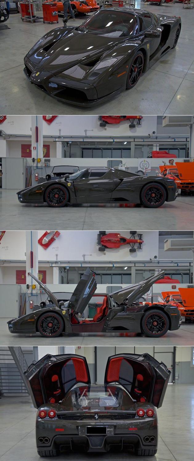 Naked Ferrari Enzo