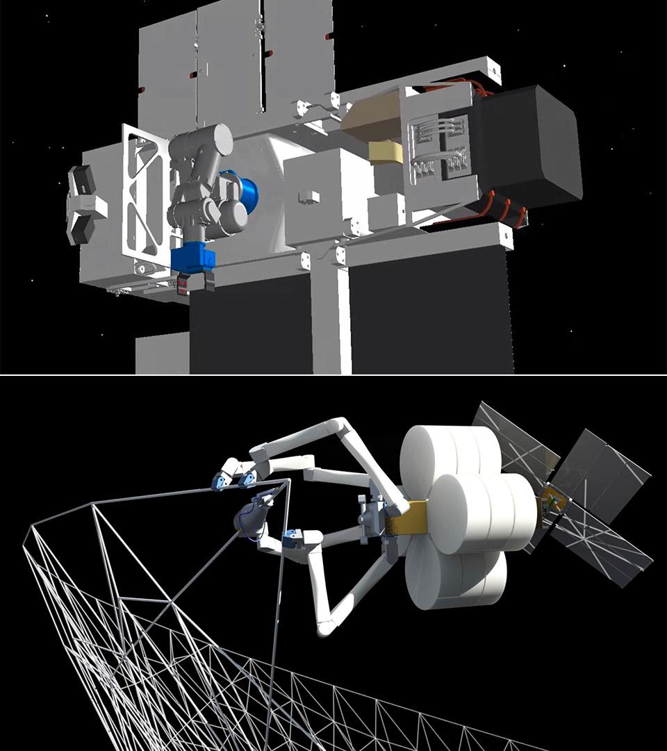 NASA 3D Print Spacecraft Orbit