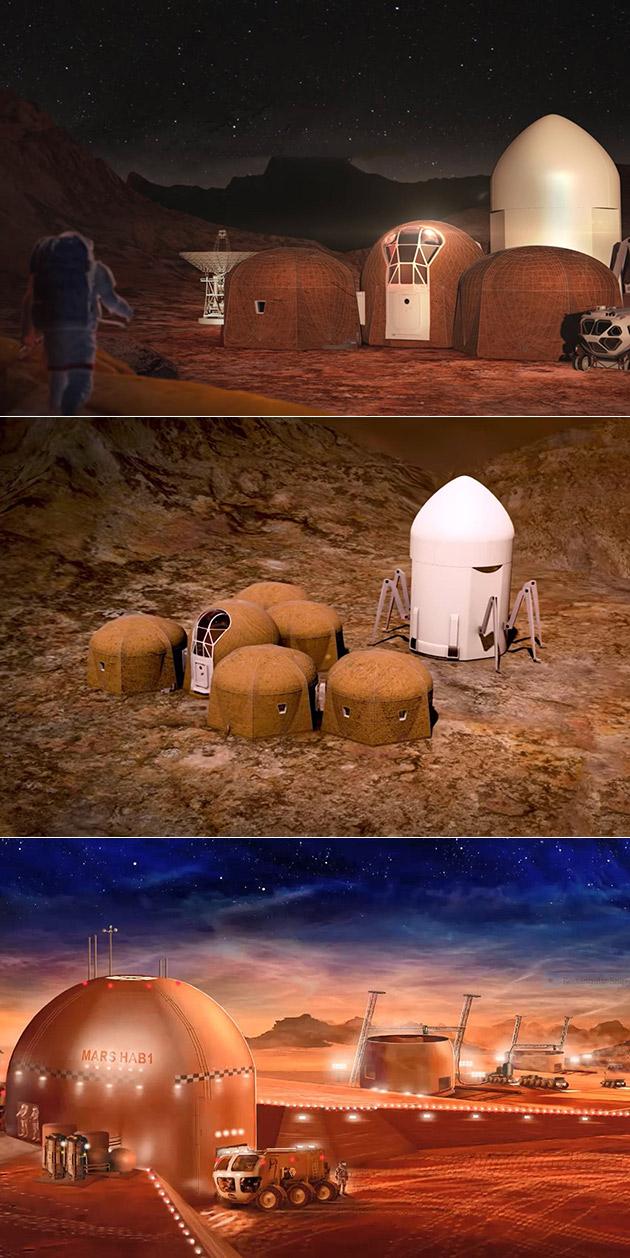 3D-Printed Mars Habitat