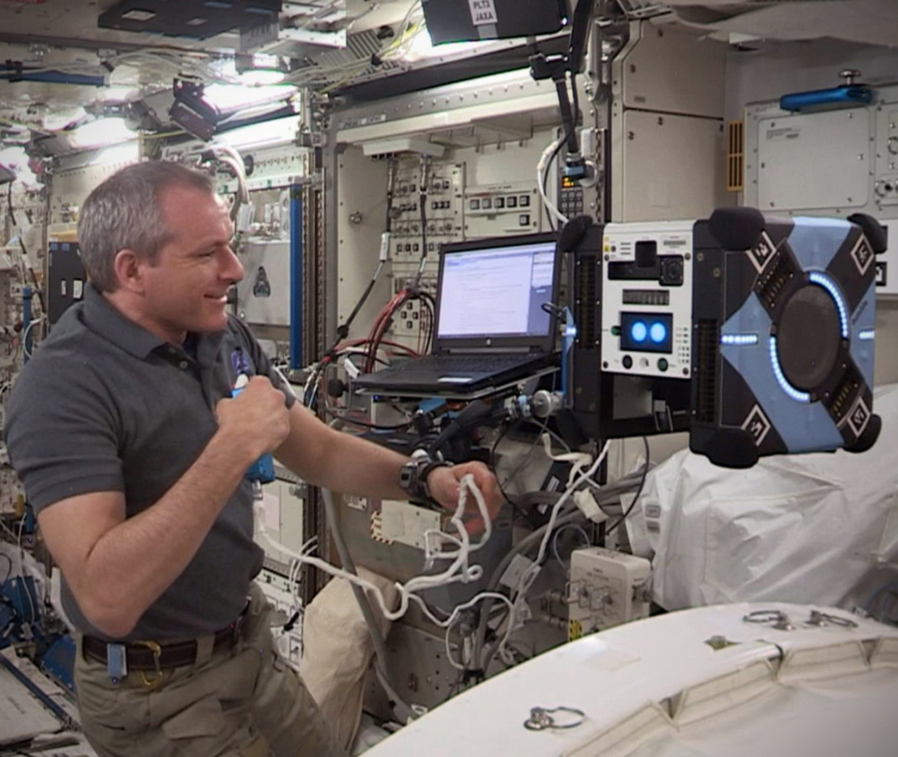 NASA Astrobee Cube Robot