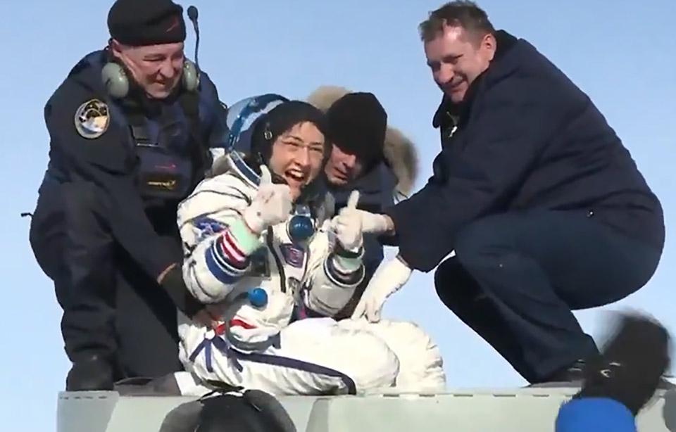 NASA Astronaut Christina Koch Return ISS
