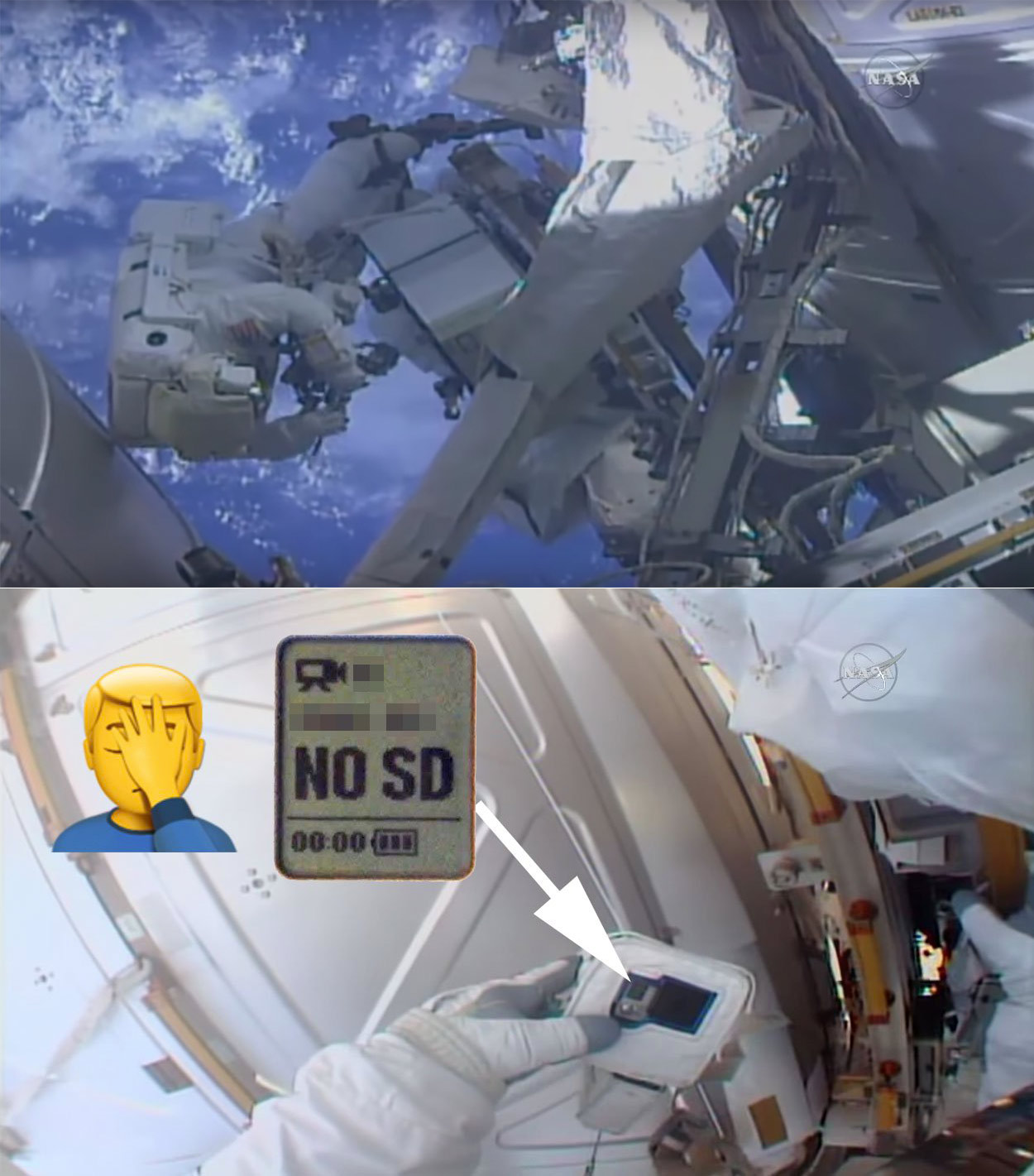NASA Astronaut SD Card