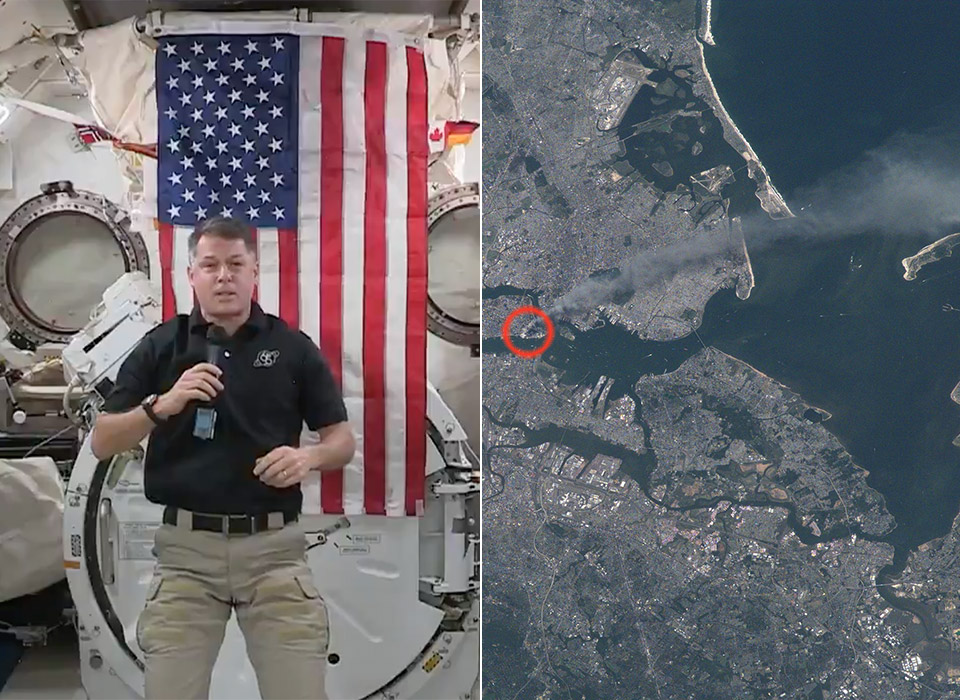 NASA Astronaut Shane Kimbrough September 11 Attacks International Space Station