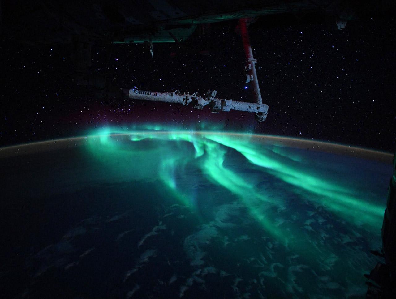 NASA Astronaut Thomas Pesquet International Space Station
