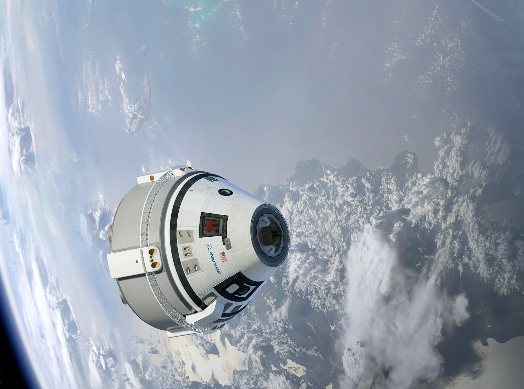 NASA Boeing CST-100 Starliner ISS