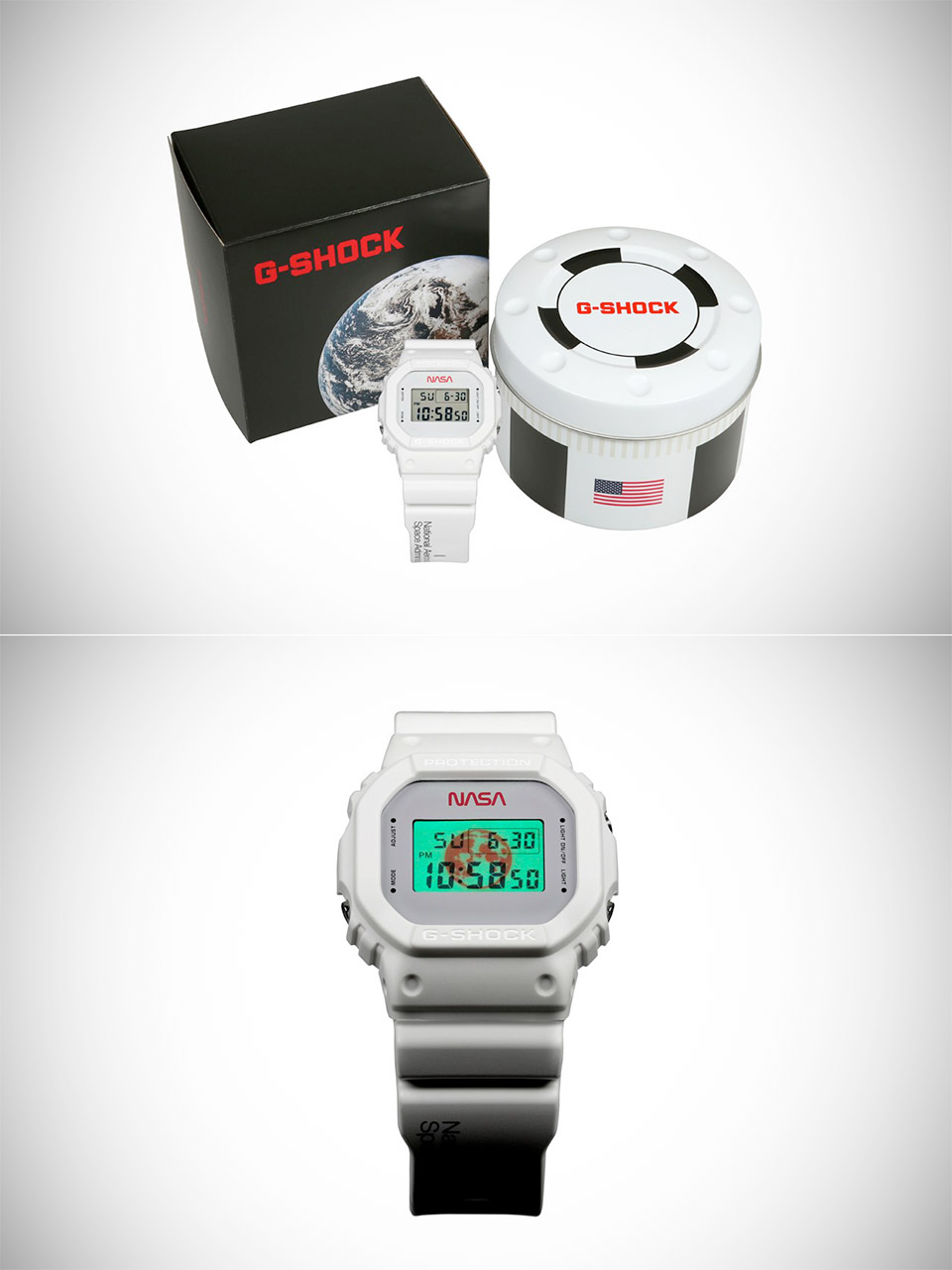 NASA Casio G-Shock DW5600