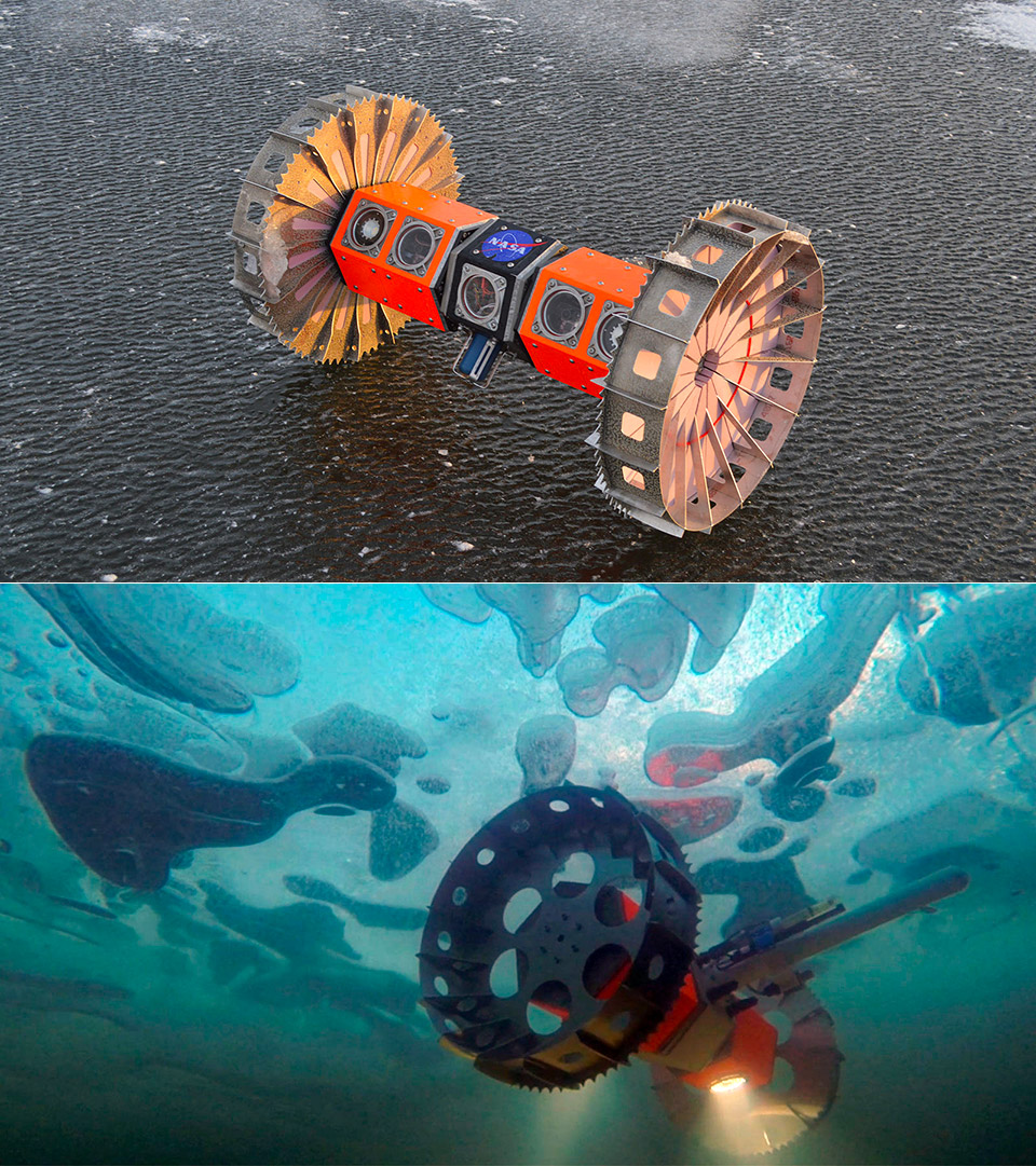NASA Deep Space Robot Europa